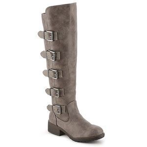 Madden girl minlin stone pari tall boot buckles
